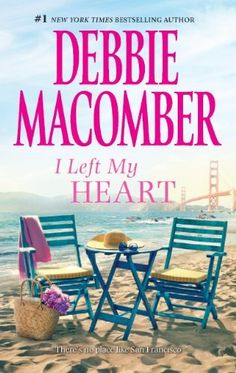 'I Left My Heart: A Friend or Two\No Competition' by Debbie Macomber ---- A Friend or TwoElizabeth Wainwright, an East Coast heiress in disguise, takes a job waitressing at a Fisherman's Wharf café, eager to. I Love Books, Great Books, Books To Read, My Books, Reading Books, Debbie Macomber, Inspirational Books, Historical Fiction, Book Authors