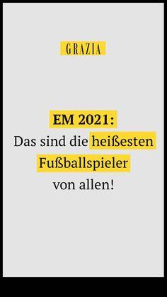 Heiß, heißer, Cristiano Ronaldo! Oder doch lieber Mats Hummels?! Wir haben die Kicker für die Fußball-Europameisterschaft 2021 für euch aufgelistet, die für Schnappatmung sorgen! #grazia #grazia_magazin #em2021 #fußballspieler #heiß #hottie