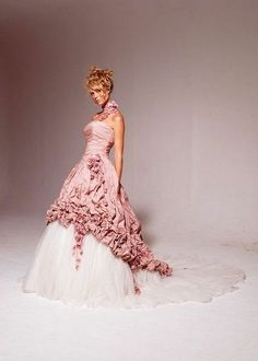 This is my dress, it this exact colour. Ian Stuart Pompadour #BOUTONbrides