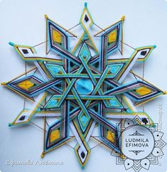 Weaving Projects, Weaving Art, Crochet Mandala, Mandala Art, God's Eye Craft, Crochet Furniture, Diy Dream Catcher Tutorial, Yarn Crafts For Kids, String Wall Art