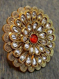 Wholesale fashion Finger Rings available at the best wholesale price Antique Jewellery Designs, Gold Ring Designs, Fancy Jewellery, Gold Jewelry Simple, Gold Rings Jewelry, Hand Jewelry, Bridal Rings, Bridal Jewelry, Jewelry Design Earrings