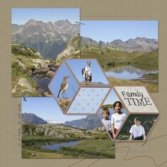 oz08-2 | collab ACO | AMarie | Flickr #scrapbooklayouts #scrapbooking101