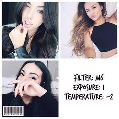 black and white instagram feed VSCO filter M6