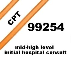 Mid-high level initial hospital consult free E/M CPT® coding lecture.
