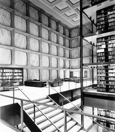 Rare Books & Translucent Marble Windows  Yale University's Beinecke Rare Book and Manuscript Library is the one of the largest buildings in the world dedicated to the containment and preservation of rare books, manuscripts, and documents. It was...