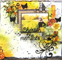 Fun with Gelatos for Oct 2013 DT reveal for 2 Crafty chipboard. BY Di Garling