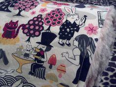 Asian Inspired Alice In Wonderland Baby Blanket by www.SnuggleBugZZZ.etsy.com