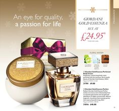 Oriflame Giordani Gold Essenza Parfum +Body Cream SET