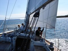 I love this picture. I want to share with you  the fun of sailing.