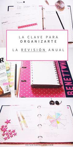 Organizar la agenda: La revisión