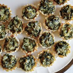 Spinach-Artichoke Bites | MyRecipes.com Frozen artichoke hearts contain no added salt, unlike the canned variety, which may contain more than 300mg per half cup.