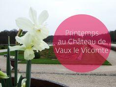 Le jardin de Le Nôtre à Vaux le Vicomte, un lieu idéal pour exprimer votre créativité en cette saison.