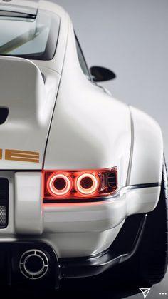 The Singer-Williams Porsche 911 - Porsche - Cars Porsche Panamera, Porsche 918 Spyder, Porsche 911 Turbo, Porsche Classic, Classic Cars, Porsche Carrera, Cayman Porsche, Porsche Girl, Porsche 911 Singer