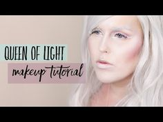 Queen of Light Makeup Tutorial // Light & Darkness Collaboration with TheBethanyFae - YouTube