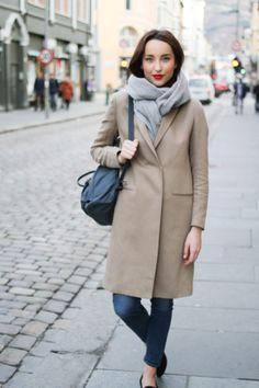 The Filippa K linen coat. LOVE! Auburn, Street Wear, Urban, Fashion Outfits, My Style, Coat, Jackets, Fashion Sets, Peacoats