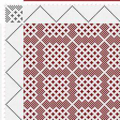 draft image: Plate 66, No. 26, Neues Build-und Muster-Buch zur Beforderung der Edlen Leinen-und Bild-Weberkunst, Johann Michael Kirschbaum, 16S, 16T