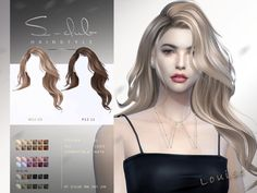 Sims 4 Mac, Sims Cc, Sims 4 Mods Clothes, Sims Mods, Club Hairstyles, Female Hairstyles, Witch Hair, The Sims 4 Cabelos, Sims Packs