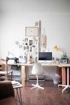 Espacio creativo: minimalismo y caos ~ El Costurero Pattern