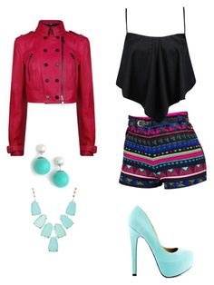 """""""*73"""" by marigonzalez1d ❤ liked on Polyvore featuring Burberry, Boohoo, TaylorSays, Jarin K and Kendra Scott"""