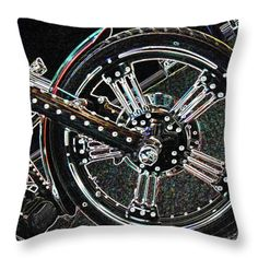 All Throw Pillows - Decked Out Throw Pillow by Lovina Wright