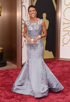 Robin Roberts at the 2014 Academy Awards