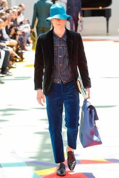 Burberry Prorsum Spring 2015 Menswear Collection Slideshow on Style.com