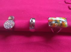 Bellos Anillos Dama Fashion De Moda Acero Inoxidable - Bs. 4.499,00 en Mercado Libre