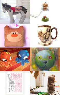 Special September Etsy Finds - Animal Magic by Rebecca M-Adams on Etsy--Pinned…