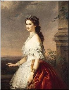 "Képtalálat a következőre: ""sissi"" Victorian Paintings, Victorian Art, Wedding Night, Wedding Bride, Impératrice Sissi, Austria, Empress Sissi, Elisabeth I, Kaiser Franz"