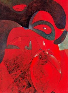 'Compendium of the History of the Universe', Max Ernst, 1953