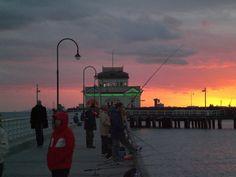 Kilda pier, at Port Phillip Bay St Kilda, Melbourne, Challenges, Victoria, Australia, Places, Lugares