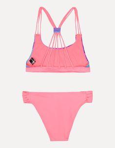 Bikini mit Palmenmuster