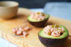 Gevulde avocado met garnalen - ProjectGezond.nl