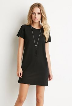 Cotton T-Shirt Dress | Forever 21 - 2000157536