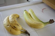 Wrap bananas in plastic wrap to keep them from ripening too quickly