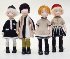 Brit Handmade cloth doll от AldegondeCeelen на Etsy
