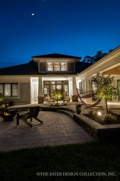 44 best Craftsman and Prairie Style Home Plans - The Sater Design ...
