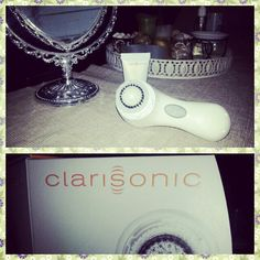 Mia 2Face Cleaning Brush byClarisonic.