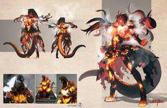 Monster Design, Monster Art, Monster Hunter, Anime Monsters, Cool Monsters, Godzilla Comics, Godzilla Godzilla, Fantasy Creatures, Mythical Creatures