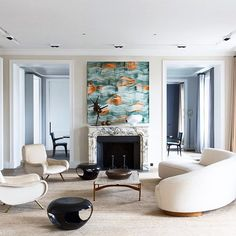 French elegance with an artisanal touch. See more of Damien Langlois-Meurrine's nature-inspired modern designs in #Introspective.  by Stephan Julliard #stephanjulliardphotography #french #modern #elegant #damienlangloismeurinne