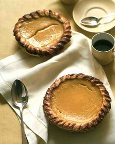Acorn Squash and Honey Pies Recipe