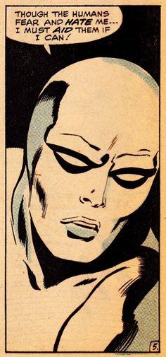 thecomicsvault:  SILVER SURFER #10 (Nov. 1969)Art by John Buscema (pencils)…