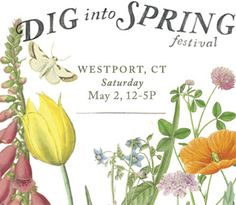 Dig into Spring Spring Festival, Flower Farm, Growing Flowers, Place Cards, Place Card Holders