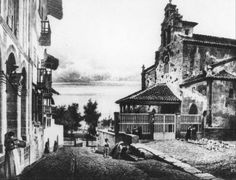 The Good Place, Places, Painting, Vintage, Outdoors, Posters, Lugares, Antique Photos, Street