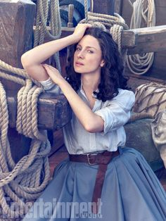"""Of shooting in South Africa, Balfe smiles and says, """"It's a nice change from freezing in Scotland."""""""