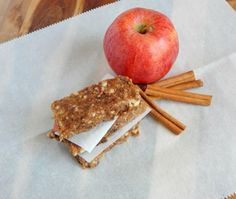 No Bake Apple Pie Energy Bars