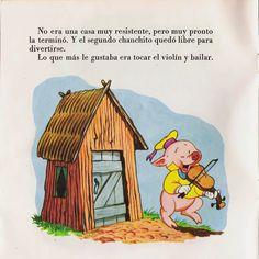 Cuentos infantiles: Los tres cerditos. Cuento ilustrado. Peanuts Comics, Cartoon, Books, San, Vestidos, Reading Books, Infant Learning Activities, Libros, Book