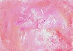 "Original Painting - 5"" x 7"" - Abstract - Pink, Coral and White Acrylic Painting - 2015-49 by AidforAbby on Etsy https://www.etsy.com/listing/225061453/original-painting-5-x-7-abstract-pink"