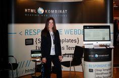 Messestand Design HTML Kombinat / Messestand Gestaltung / plentymarkets 2014 Kassel