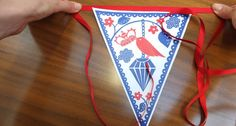 Fun Bunting for the Jubilee  by Rob Ryan